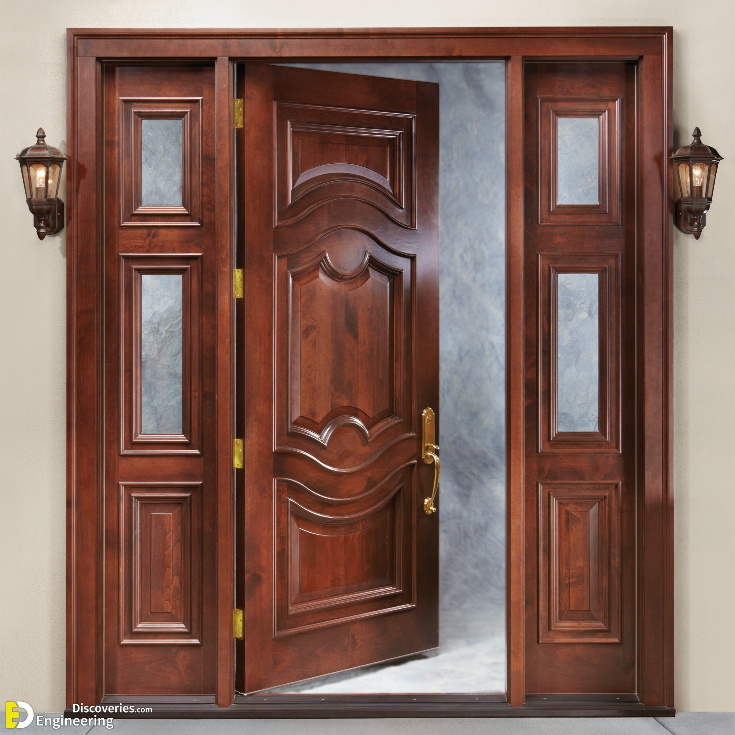 Unique 60 Modern And Classic Wooden Main Door Design Ideas ...