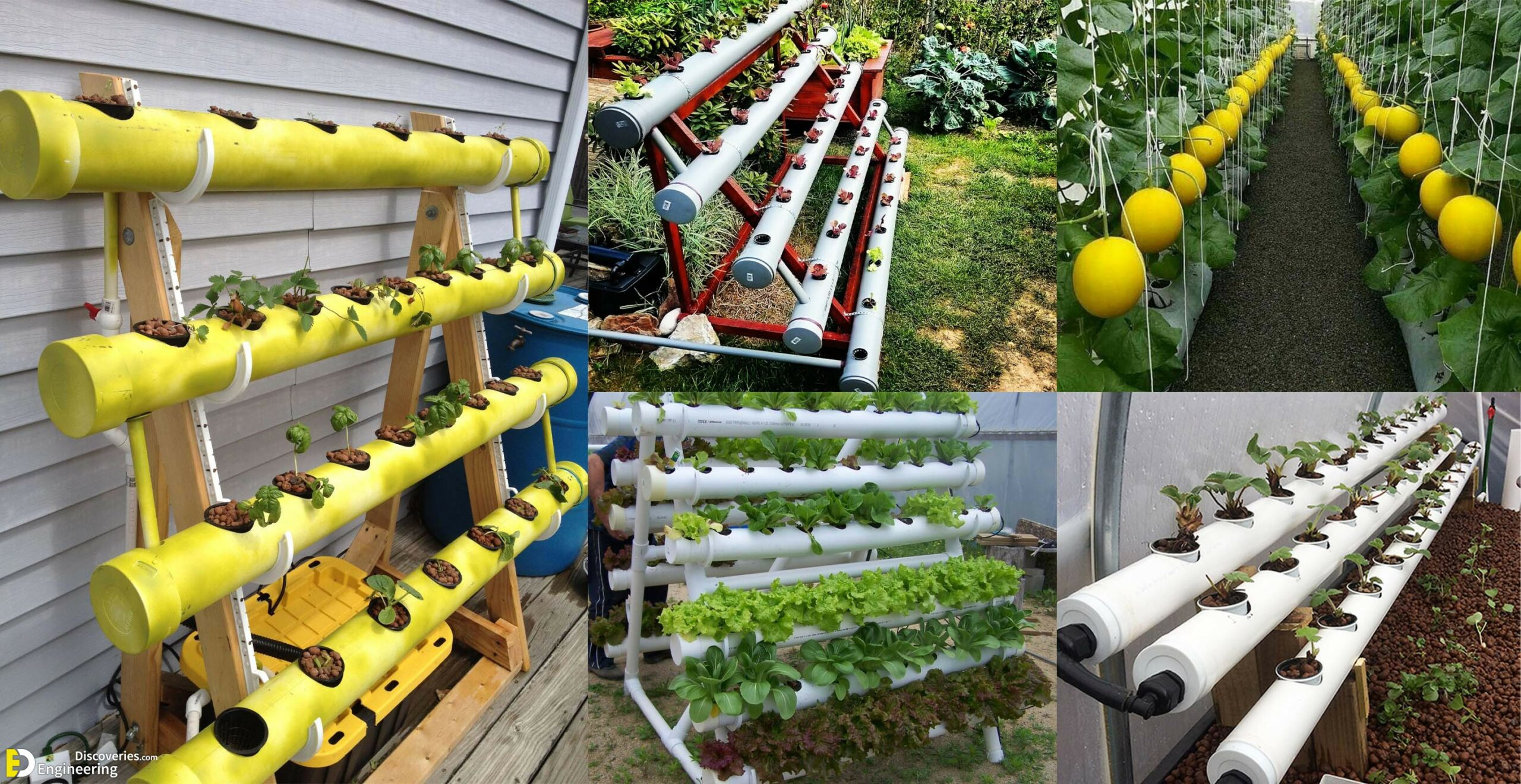How To Make Home Garden And Fresh Vegetables By Pvc Pipe Engineering Discoveries