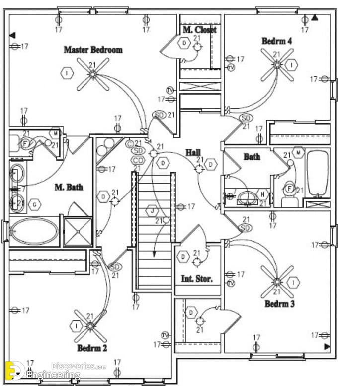 electrical house plan details