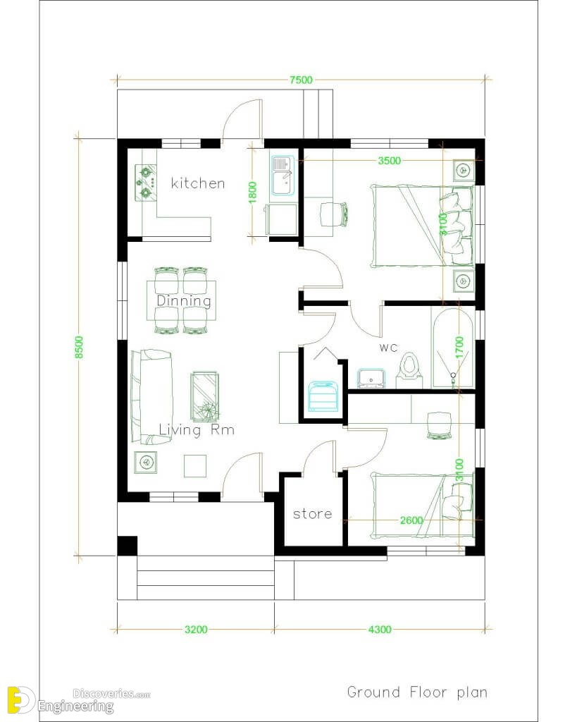 30 Small House Plan Ideas - Engineering Discoveries