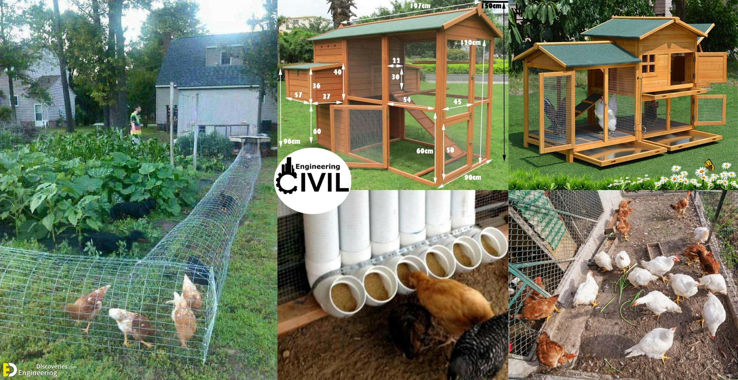 50 Beautiful Diy Chicken Coop Ideas You Can Actually Build Engineering Discoveries