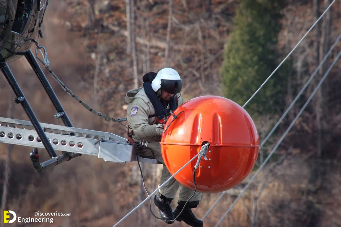 What Are Those Balls That Hang On Power Lines - Engineering Discoveries